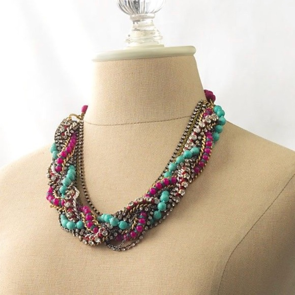 Stella & Dot Jewelry - Stella & Dot Bamboleo Statement Necklace